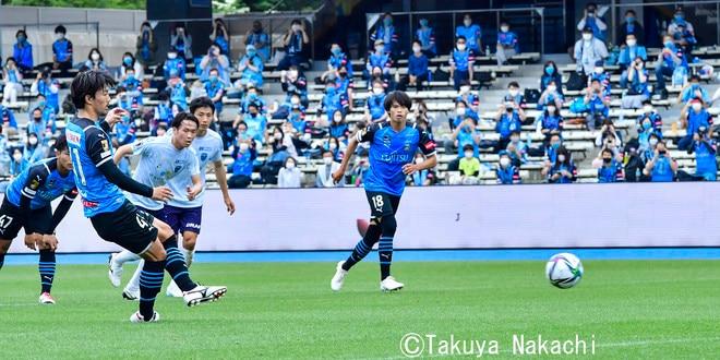 川崎、23戦無敗!(2)1得点・田中碧が吐露した「質の低さにガッカリした」の画像024