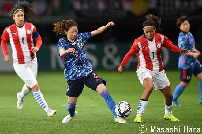 【なでしこジャパン】パラグアイ戦「7対0圧勝」に見えた日本女子サッカーの現在地の画像013