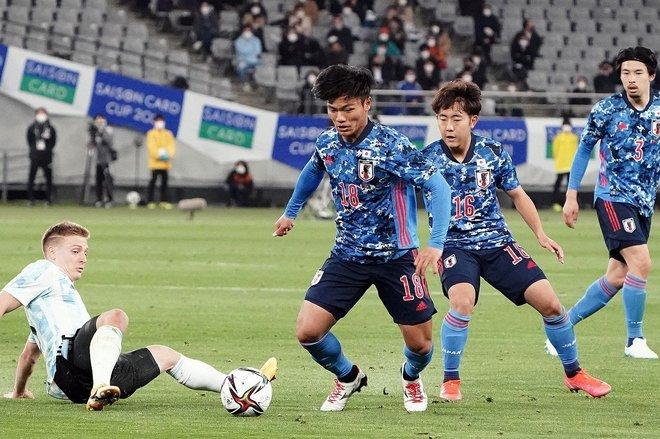 PHOTOギャラリー「ピッチの焦点」【国際親善試合 U-24日本代表vsU-24アルゼンチン代表 2021年3月26日 19:00キックオフ】の画像008