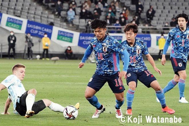 スペイン人指導者が見た日本代表「東京五輪とW杯8強」(5)フル代表への「U-24昇格組」3人と五輪「OA候補」の3人の画像006
