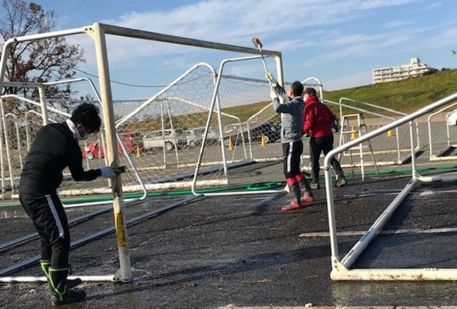 「レッズランド再生秘話」台風被災からの復興(1)「埼玉スタジアム3個分」が完全に水没の画像011