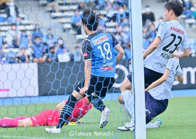 川崎、23戦無敗!(2)1得点・田中碧が吐露した「質の低さにガッカリした」の画像022