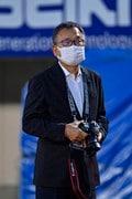 湘南―川崎で珍事! 村井満チェアマンがカメラマンとして川崎を撮影していた!の画像002