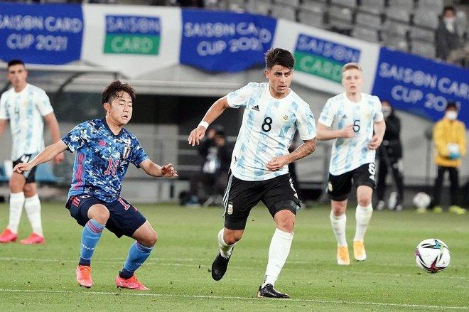 PHOTOギャラリー「ピッチの焦点」【国際親善試合 U-24日本代表vsU-24アルゼンチン代表 2021年3月26日 19:00キックオフ】の画像016