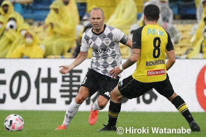 「4対0」でもイニエスタの猛追撃「柏ー神戸」PHOTOギャラリー「ピッチの焦点」の画像009