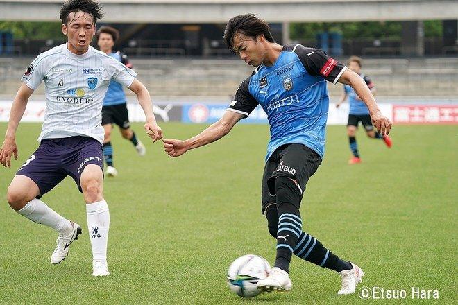 川崎ー横浜FC「川崎さんをリスペクトしすぎていた」無敗記録「23」更新 原悦生PHOTOギャラリー「サッカー遠近」 の画像005
