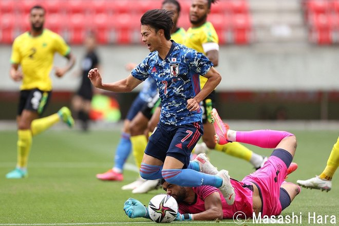PHOTOギャラリー「ピッチの焦点」【国際親善試合 U24日本代表vsジャマイカ代表 2021年6月12日 13:35キックオフ】の画像003