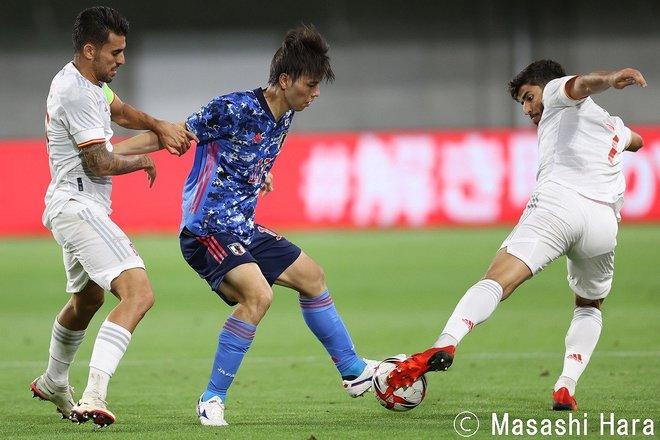 PHOTOギャラリー「ピッチの焦点」【国際親善試合 U24日本代表vsスペイン代表 2021年7月17日 19:20キックオフ】の画像006