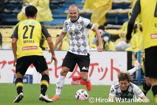 「4対0」でもイニエスタの猛追撃「柏ー神戸」PHOTOギャラリー「ピッチの焦点」の画像006