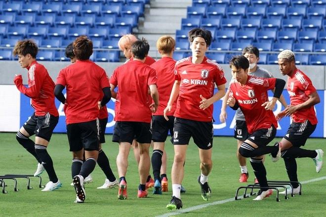 【日本代表】5連戦ラストに向けて最後のトレーニング【6月14日】PHOTOギャラリー「ピッチの焦点」の画像004