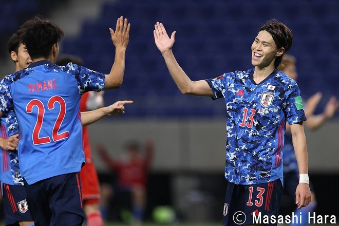 PHOTOギャラリー「ピッチの焦点」【W杯アジア2次予選 日本vsタジキスタン 2021年6月7日 19:30キックオフ】の画像004