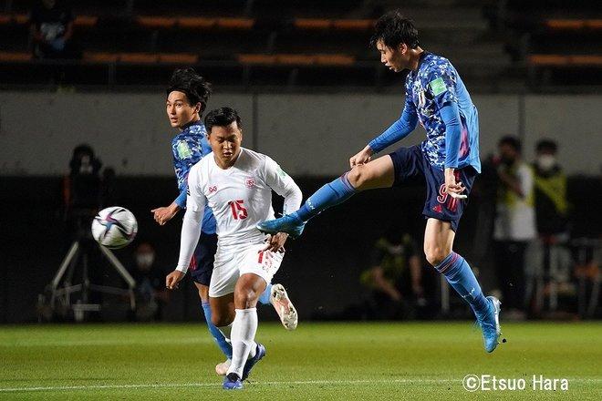 【日本ーミャンマー】「海外19クラブの23人」日本代表が10得点 原悦生PHOTOギャラリー「サッカー遠近」 の画像004