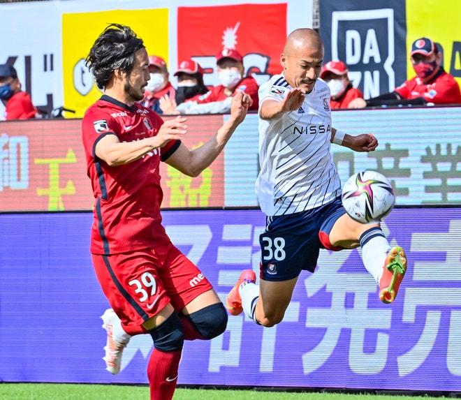 横浜FM、カシマで沈没(1)逆手に取られた「強力プレスの圧迫策」の画像004
