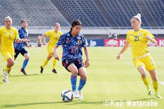 【なでしこジャパン】8対0でウクライナ代表に圧勝も…高倉監督が試合後に呼んだ2人の選手 PHOTOギャラリー「ピッチの焦点」の画像008