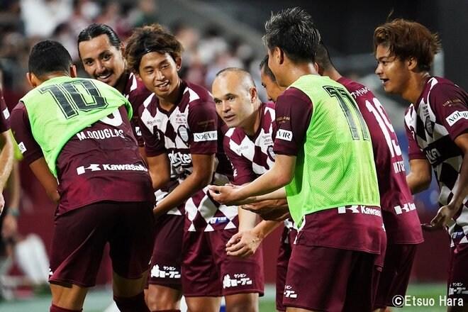 「神戸にはイニエスタがいる」原悦生PHOTOギャラリー「サッカー遠近」 神戸ー札幌の画像006