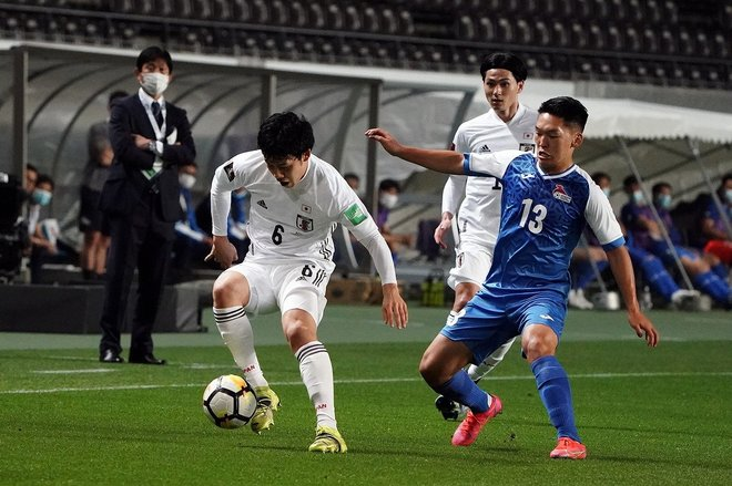 PHOTOギャラリー「ピッチの焦点」【W杯アジア2次予選 日本代表対モンゴル代表 2021年3月30日 19:30キックオフ】(渡辺航滋)の画像004
