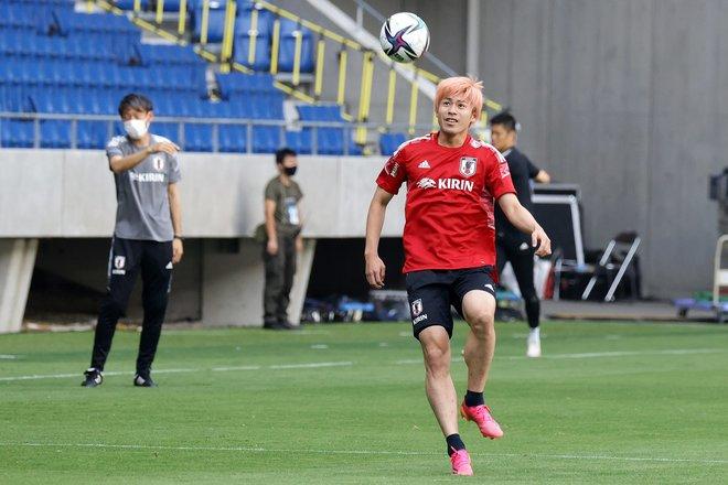 【日本代表】5連戦ラストに向けて最後のトレーニング【6月14日】PHOTOギャラリー「ピッチの焦点」の画像011