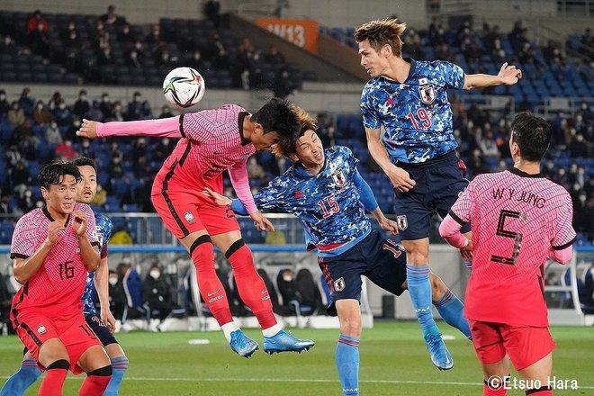 【日韓戦】「ソン・フンミンを撮りたかった」2021年3月25日 原悦生PHOTOギャラリー「サッカー遠近」 日本ー韓国の画像005