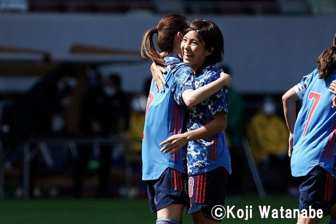 PHOTOギャラリー「ピッチの焦点」【国際親善試合 日本女子代表vsパナマ女子代表 2021年4月11日 6:04キックオフ】(撮影/渡辺航滋)の画像010
