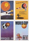 大住良之の「この世界のコーナーエリアから」第79回「ワールドカップ、ポスターは世に連れ…」(2)「盗作疑惑のスウェーデン大会、大会初マスコット登場のイングランド大会」の画像001