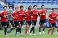 【日本代表】5連戦ラストに向けて最後のトレーニング【6月14日】PHOTOギャラリー「ピッチの焦点」の画像012