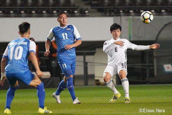 【日本代表】モンゴルvs日本「最多14ゴールと静けさ」(2021年3月30日)原悦生PHOTOギャラリー「サッカー遠近」 日本ーモンゴルの画像003
