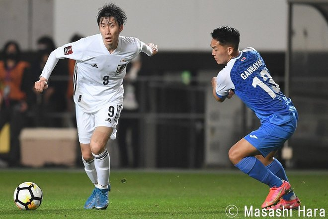 PHOTOギャラリー「ピッチの焦点」 【W杯アジア2次予選 日本代表vsモンゴル代表 2021年3月30日 19:30キックオフ】(原壮史)の画像001