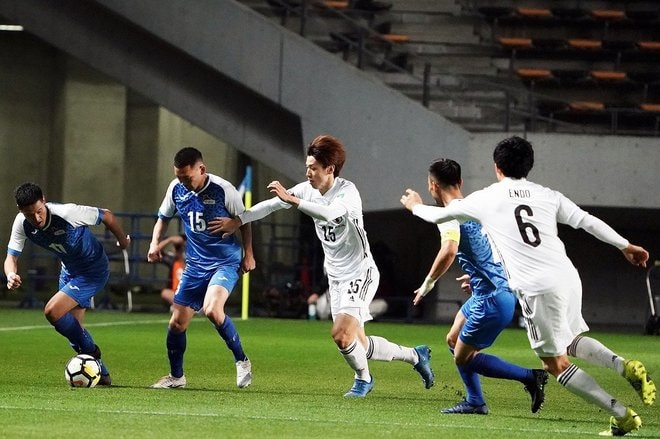 PHOTOギャラリー「ピッチの焦点」【W杯アジア2次予選 日本代表対モンゴル代表 2021年3月30日 19:30キックオフ】(渡辺航滋)の画像003
