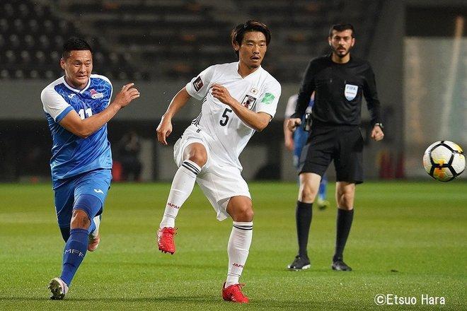 【日本代表】モンゴルvs日本「最多14ゴールと静けさ」(2021年3月30日)原悦生PHOTOギャラリー「サッカー遠近」 日本ーモンゴルの画像001