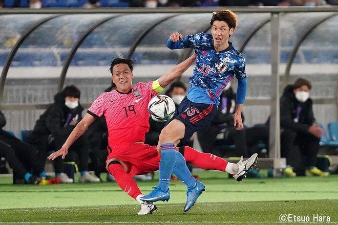 【日韓戦】「ソン・フンミンを撮りたかった」2021年3月25日 原悦生PHOTOギャラリー「サッカー遠近」 日本ー韓国の画像006