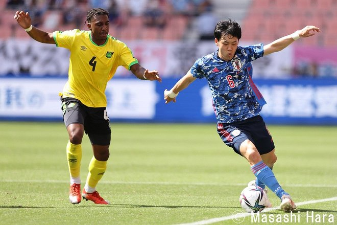PHOTOギャラリー「ピッチの焦点」【国際親善試合 U24日本代表vsジャマイカ代表 2021年6月12日 13:35キックオフ】の画像004