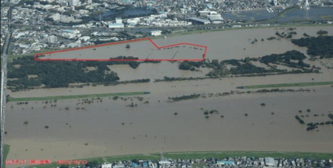 「レッズランド再生秘話」台風被災からの復興(1)「埼玉スタジアム3個分」が完全に水没の画像002