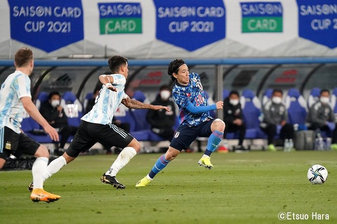 「永遠の10番」ディエゴ・マラドーナへの思い(2021年3月26日)原悦生PHOTOギャラリー「サッカー遠近」 日本ーアルゼンチンの画像003
