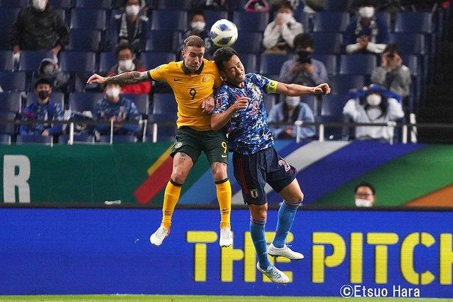 ワールドカップ最終予選【サッカー日本代表VSオーストラリア代表】「窮地」の中での大歓喜!日本がオーストラリアに2対1で勝利 原悦生PHOTOギャラリー「サッカー遠近」の画像005