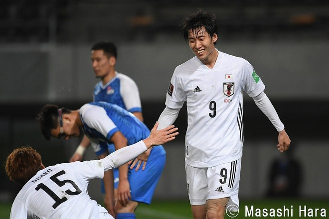 PHOTOギャラリー「ピッチの焦点」 【W杯アジア2次予選 日本代表vsモンゴル代表 2021年3月30日 19:30キックオフ】(原壮史)の画像002