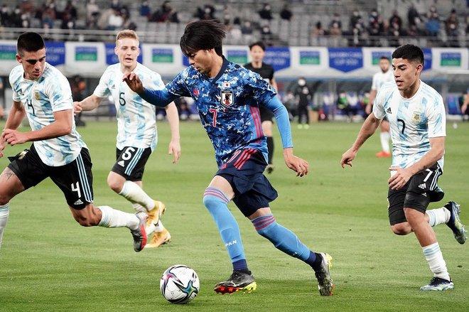 PHOTOギャラリー「ピッチの焦点」【国際親善試合 U-24日本代表vsU-24アルゼンチン代表 2021年3月26日 19:00キックオフ】の画像007