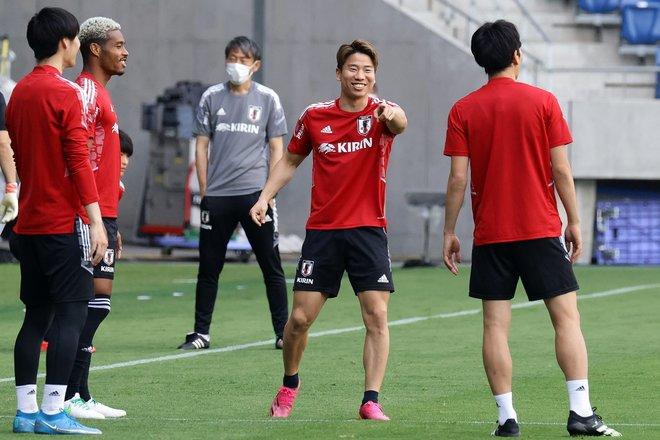 【日本代表】5連戦ラストに向けて最後のトレーニング【6月14日】PHOTOギャラリー「ピッチの焦点」の画像009