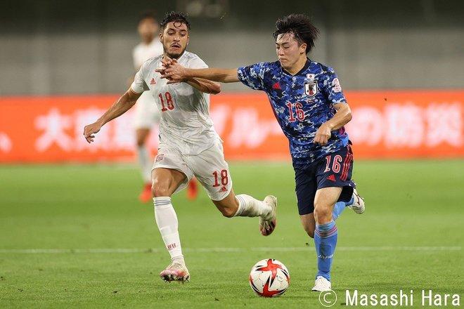 PHOTOギャラリー「ピッチの焦点」【国際親善試合 U24日本代表vsスペイン代表 2021年7月17日 19:20キックオフ】の画像004