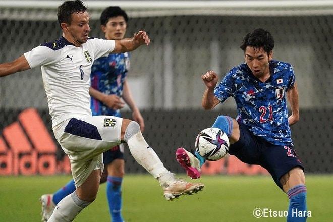 【日本代表】セルビア戦に1−0で勝利「ハマった策」と「勇気の問題」 原悦生PHOTOギャラリー「サッカー遠近」の画像008