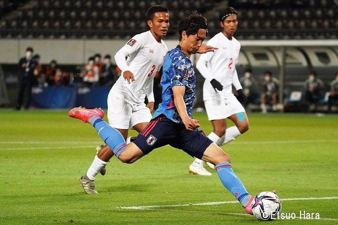 【日本ーミャンマー】「海外19クラブの23人」日本代表が10得点 原悦生PHOTOギャラリー「サッカー遠近」 の画像007