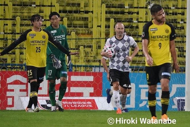 「4対0」でもイニエスタの猛追撃「柏ー神戸」PHOTOギャラリー「ピッチの焦点」の画像004
