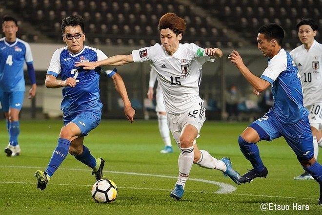 【日本代表】モンゴルvs日本「最多14ゴールと静けさ」(2021年3月30日)原悦生PHOTOギャラリー「サッカー遠近」 日本ーモンゴルの画像004