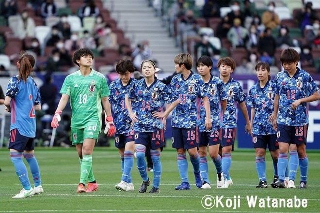 PHOTOギャラリー「ピッチの焦点」【国際親善試合 日本女子代表vsパナマ女子代表 2021年4月11日 6:04キックオフ】(撮影/渡辺航滋)の画像019