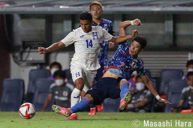 PHOTOギャラリー「ピッチの焦点」【国際親善試合 U24日本代表vsホンジュラス代表 2021年7月12日 19:30キックオフ】の画像002
