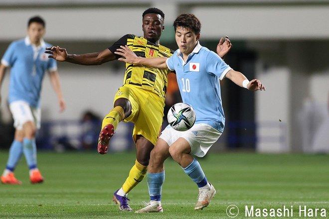 PHOTOギャラリー「ピッチの焦点」【国際親善試合 U24日本代表vsU24ガーナ代表 2021年6月5日 19:25キックオフ】の画像001
