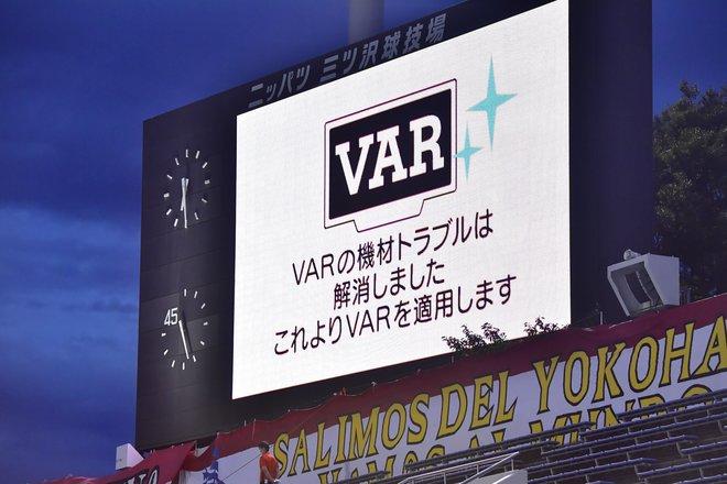 横浜F・マリノス―ベガルタ仙台戦でまさかの試合中断アクシデント! 電光掲示板にも異例のアナウンスの画像001