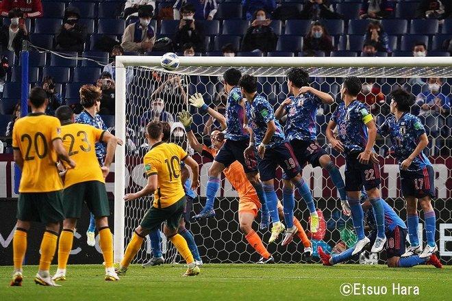 ワールドカップ最終予選【サッカー日本代表VSオーストラリア代表】「窮地」の中での大歓喜!日本がオーストラリアに2対1で勝利 原悦生PHOTOギャラリー「サッカー遠近」の画像007
