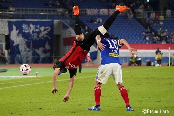 「面白い攻撃サッカーの先に見えるマリノスACL優勝」原悦生PHOTOギャラリー「サッカー遠近」 横浜FMー名古屋の画像004