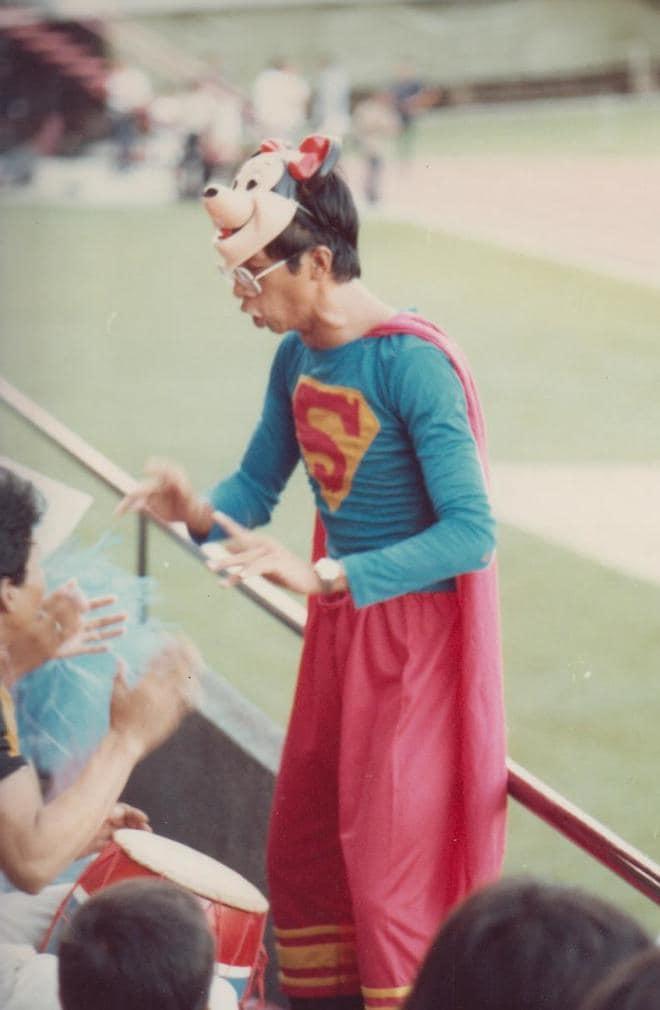 後藤健生の「蹴球放浪記」連載第65回「タイの2人のスーパーマン」の巻(2)最前列にいたクラーク・ケントの画像001