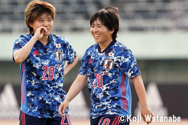 【なでしこジャパン】8対0でウクライナ代表に圧勝も…高倉監督が試合後に呼んだ2人の選手 PHOTOギャラリー「ピッチの焦点」の画像017